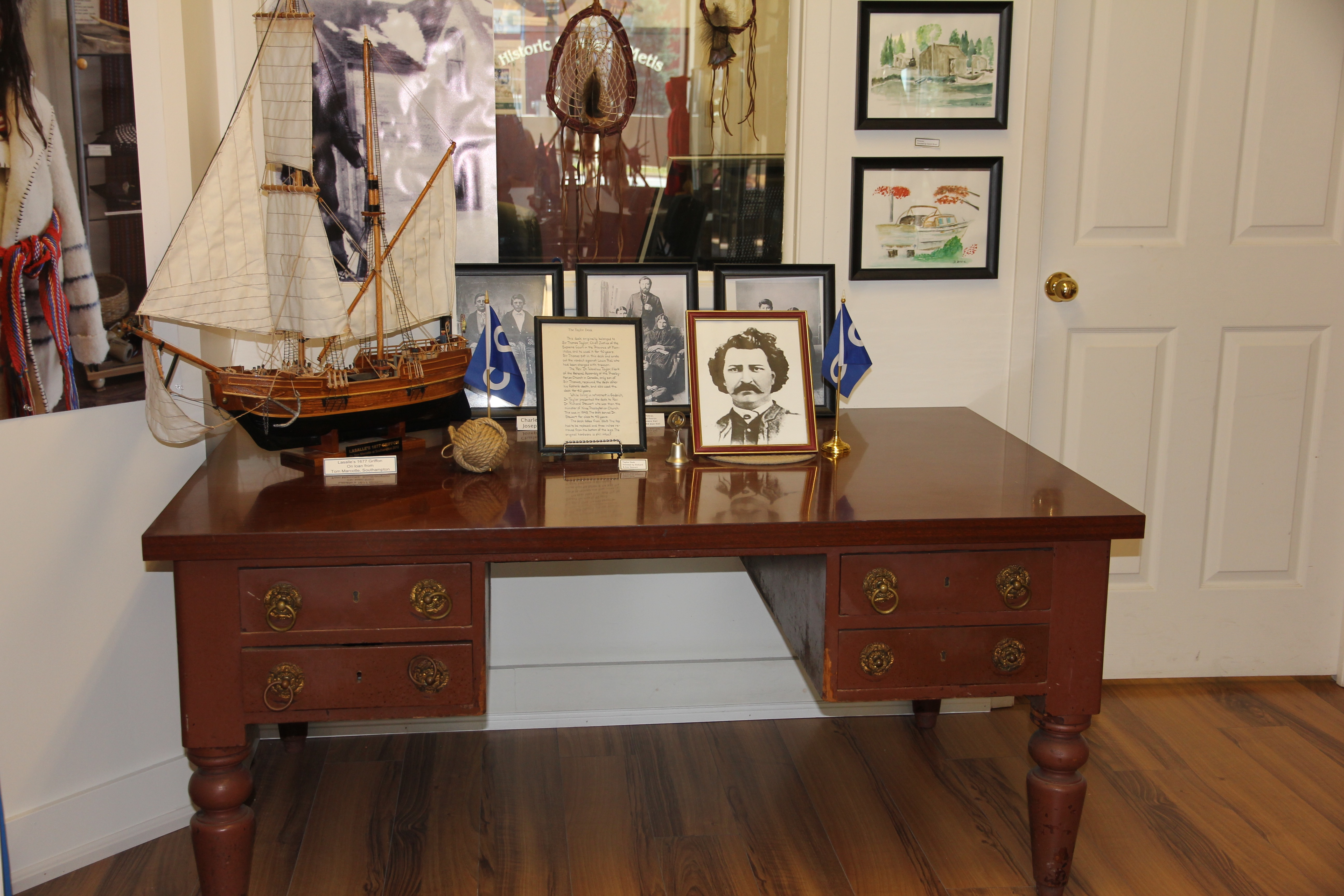 Sir T. Taylor's Desk